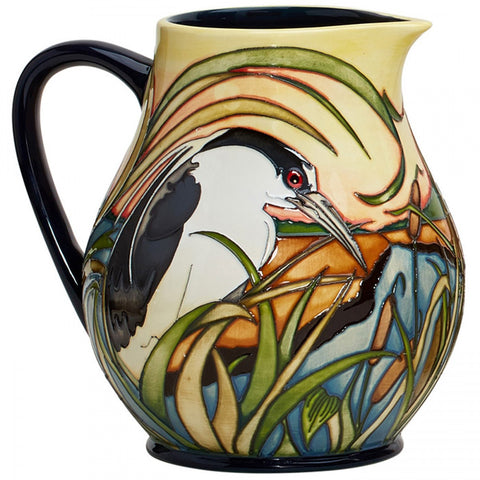 moorcroft Night Herons JU4 Jug NEW