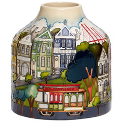 MOORCROFT - The Painted Ladies Vase 165/7 (2019)