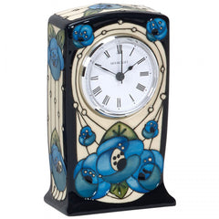 MOORCROFT - Rennie Rose CL1 Clock (2018)