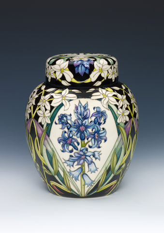 moorcroft-Scented Hyacinth Ginger Jar 769/8 (2019)