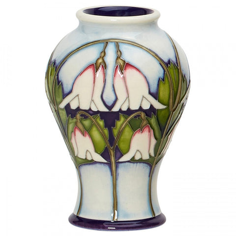 moorcroft Twinflower Vase 65/4 NEW