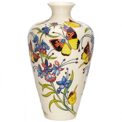 MOORCROFT - Woolly Blue Curls Vase 72/9 (2019)