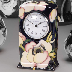Moorcroft - Anemone Blush Clock CL1 (2014)