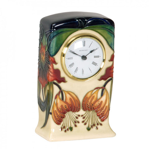 moorcroft-Anna Lily Clock CL1 (2010)