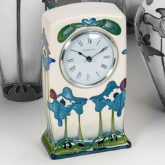 MOORCROFT - Blue Heaven Clock CL1