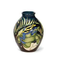 Moorcroft - Darting Frogs Vase 3/5 (2016)