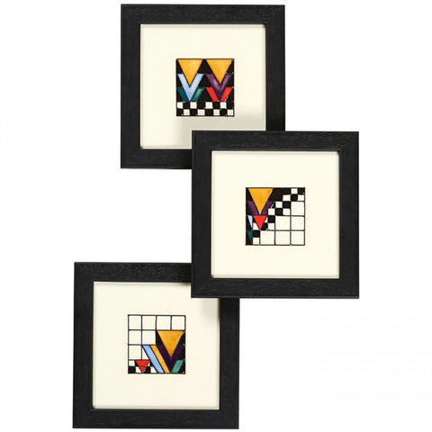 moorcroft-Derngate PLQ6 Plaque Set of 3 (2018)