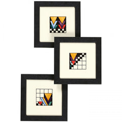 Moorcroft - Derngate PLQ6 Plaque Set of 3 (2019)