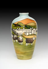 Moorcroft - Herdwicks of Windermere 25/9 Vase (2018)
