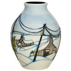 MOORCROFT - Home For Christmas Vase 3/5 (2018)