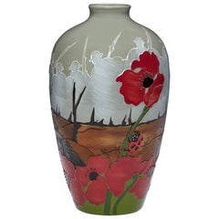 MOORCROFT - Lest We Forget Vase 25/9 (2018)