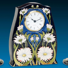 MOORCROFT - Meadow Daisy Clock CL3 (2016)