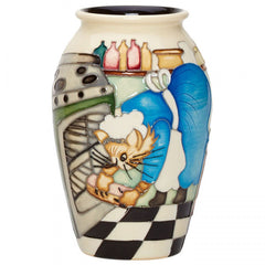 Moorcroft - Mischievious Cat 393/5 Vase (2018)
