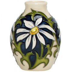 Moorcroft - April Daisy Mini Vase 3/2 (2018)