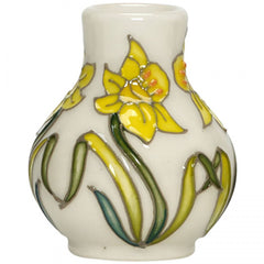 Moorcroft - March Daffodil Mini Vase 869/2 (2018)