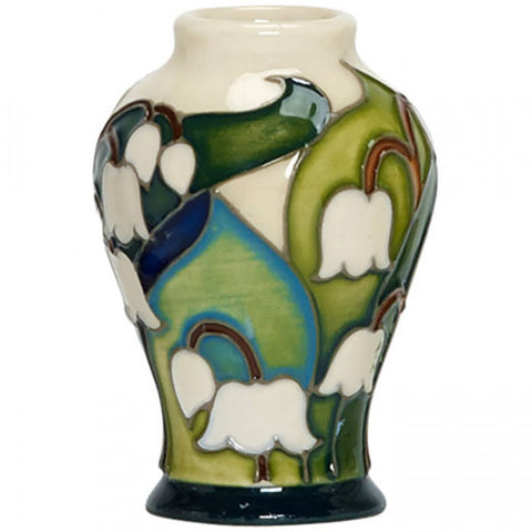 moorcroft-May Lily of the Valley Mini Vase 65/2 (2018)