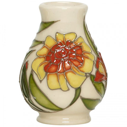moorcroft-October Marigold Mini Vase 7/2 (2018)