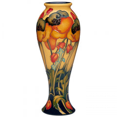 MOORCROFT - The Neighbours Garden Vase 75/10 (2018)