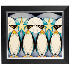 MOORCROFT - Penguin Frieze Plaque PLQ10 (2019)