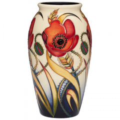 MOORCROFT - Remembrance Sunday Vase 393/7 (2018)