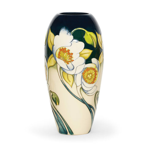 Moorcroft Rockflower Vase 101/7 by Nicola Slaney