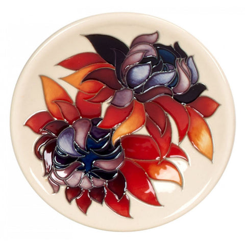 moorcroft-Ruby Red Coaster 780/4 (2014)