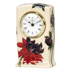 Moorcroft - Ruby Red Clock CL1 (2015)
