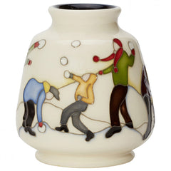 MOORCROFT - Snowball Battle Vase 198/3 (2019)