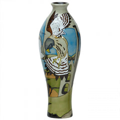 Moorcroft - The Stone Kestrel Vase 42/12 (2018)