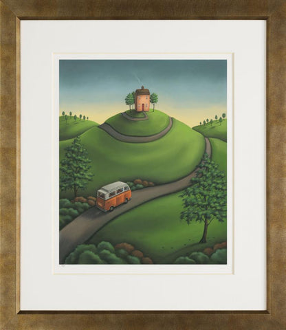 Paul Horton, The Long and Winding Road (2013) - Framed