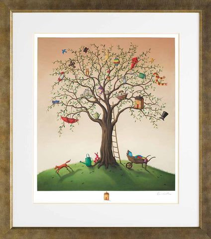 Paul Horton, Tree Of Life (2014) - Framed Giclee On Paper