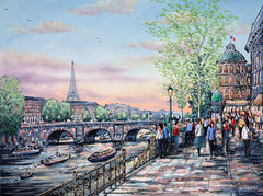 PHILLIP BISSELL - Evening Stroll, Paris