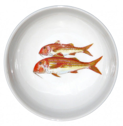 richard bramble red mullet 13cm bowl