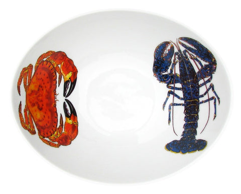 richard-bramble-blue-lobster-crab-18cm-oval-bowl