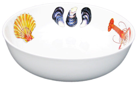 richard bramble 24cm round bowl fish shellfish