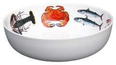 Richard Bramble - Fish & Shellfish 28cm Round Bowl