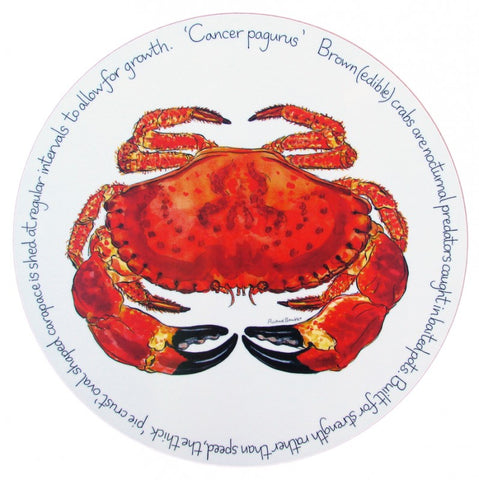 richard bramble tablemat crab