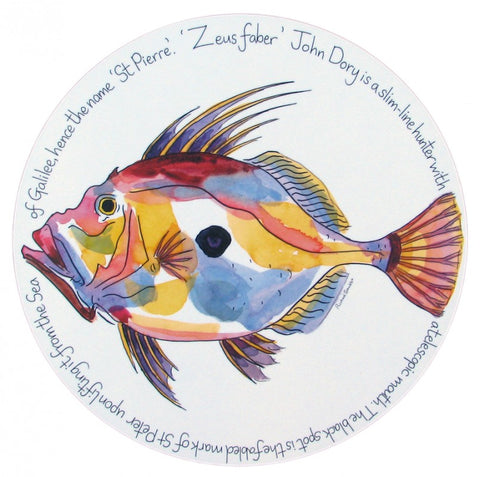 richard bramble tablemat john dory