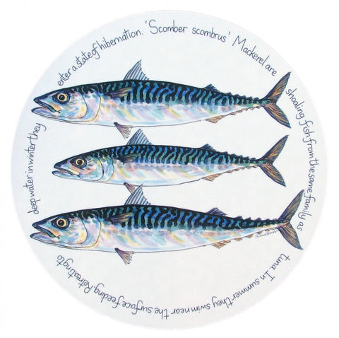 richard bramble tablemat mackerel