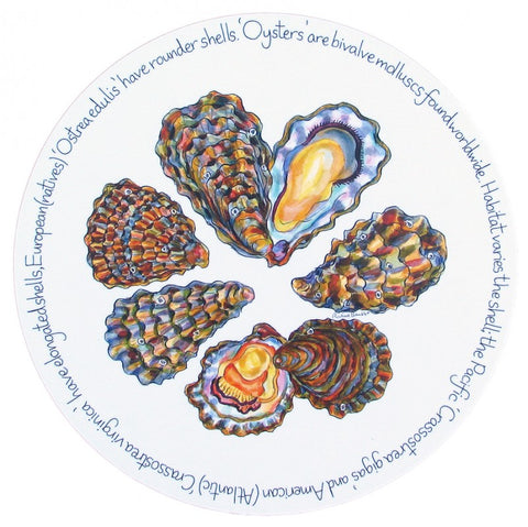 richard bramble tablemat oyster