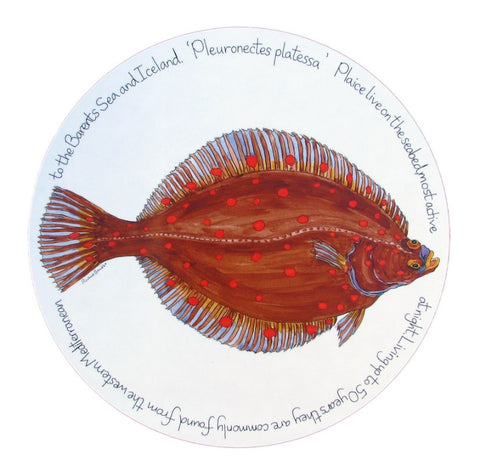 richard bramble tablemat plaice