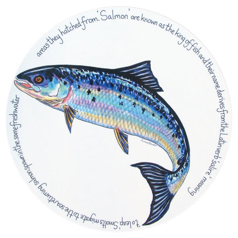 richard bramble tablemat salmon