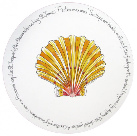richard bramble tablemat scallop