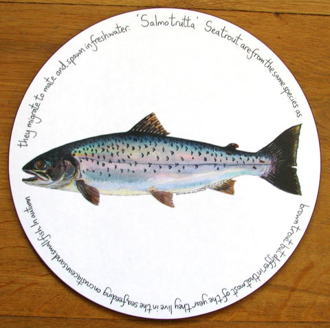 richard bramble tablemat sea trout