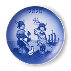 ROYAL COPENHAGEN - Bing and Grondahl Children's Day Plate 2020