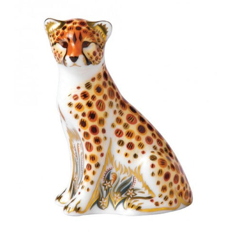 Royal-crown-derby-cheetah-cub