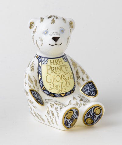 Royal Crown Derby, HRH George Bear