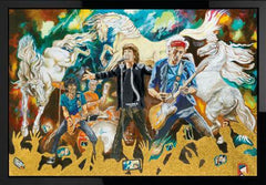 Ronnie Wood - Electric Horses - Box Canvas (2012)