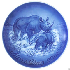 ROYAL COPENHAGEN - Bing and Grondahl Mother's Day Plate 2006