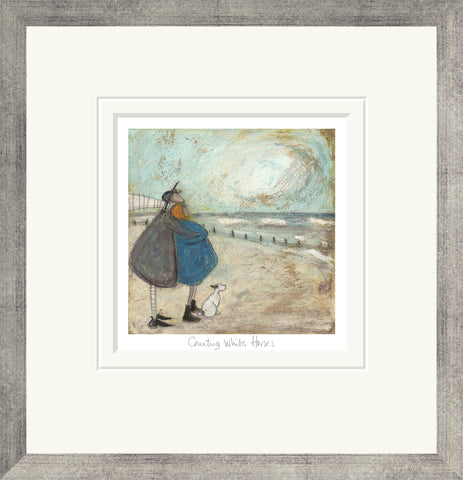 Sam Toft Counting White Horses (2017) Framed